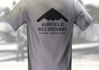 Airfield Recordings - T-Shirt Design