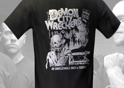 Demon City Wreckers - T-Shirt Design
