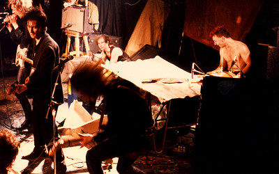 Einstürzende Neubauten at Parody Hall in KC, MO on June 2, 1986 – Photography