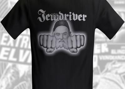 Jewdriver T-Shirt - Logo Designed by Jason Willis