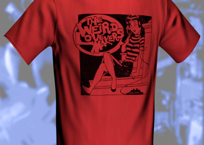 The Weird Lovemakers - Telephone Girl T-Shirt