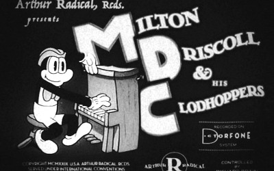 Milton Driscoll and his Clodhoppers (MDC) – I Remember (Foxtrot, 1929)