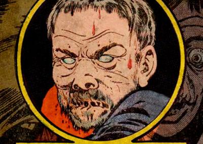 VXX-FX Monster Masks - The Old Mask Maker - EC Comics Style - Detail
