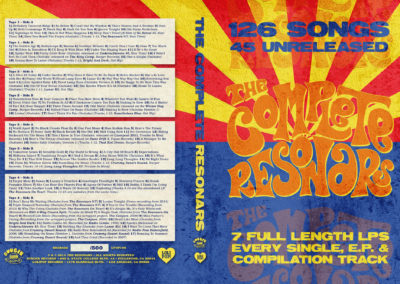 The Complete Resonars - Cassette Box Set - Graphic Design