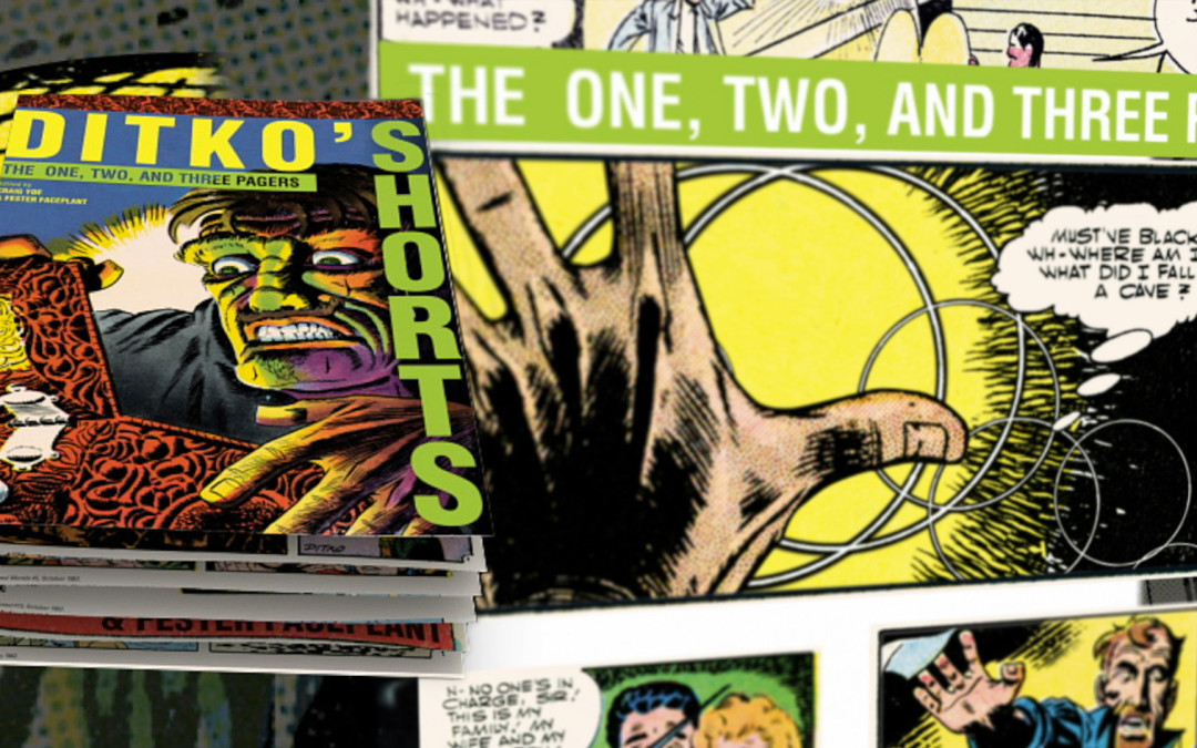Ditko's Shorts – Promotional Book Trailer