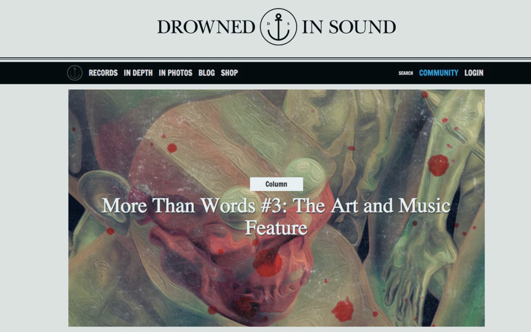 Interview: Drowned in Sound – The Art & Music Feature (Espectrostatic)