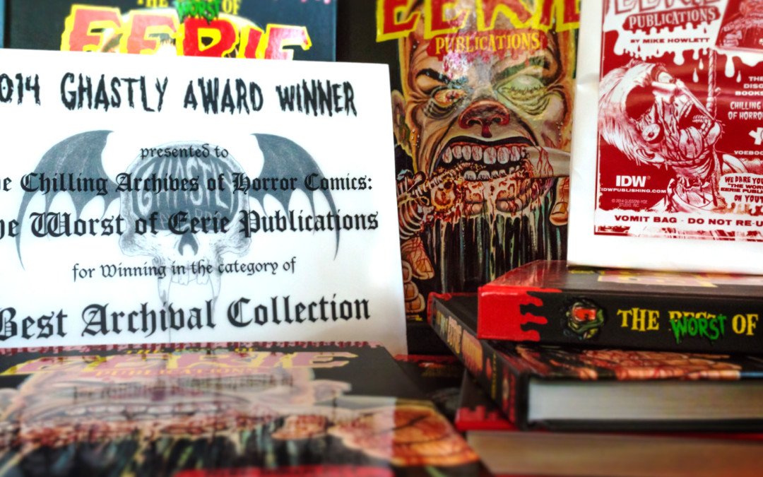 The Worst of Eerie Publications – Book Design and Layout