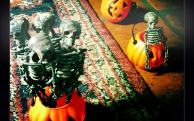 Halloween stop motion video behind the scenes 01