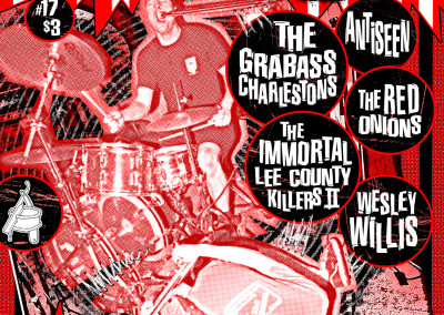 Razorcake 17 - Grabass Charelstons Front Cover - Graphic Design
