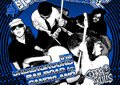Razorcake 51 - Underground Railroad to Candyland Front Cover - Graphic Design