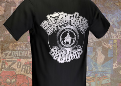 Razorcake Records - T-Shirt Design
