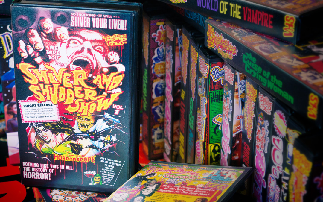 Something Weird Video: VHS Covers, Prints and Posters – Graphic Design