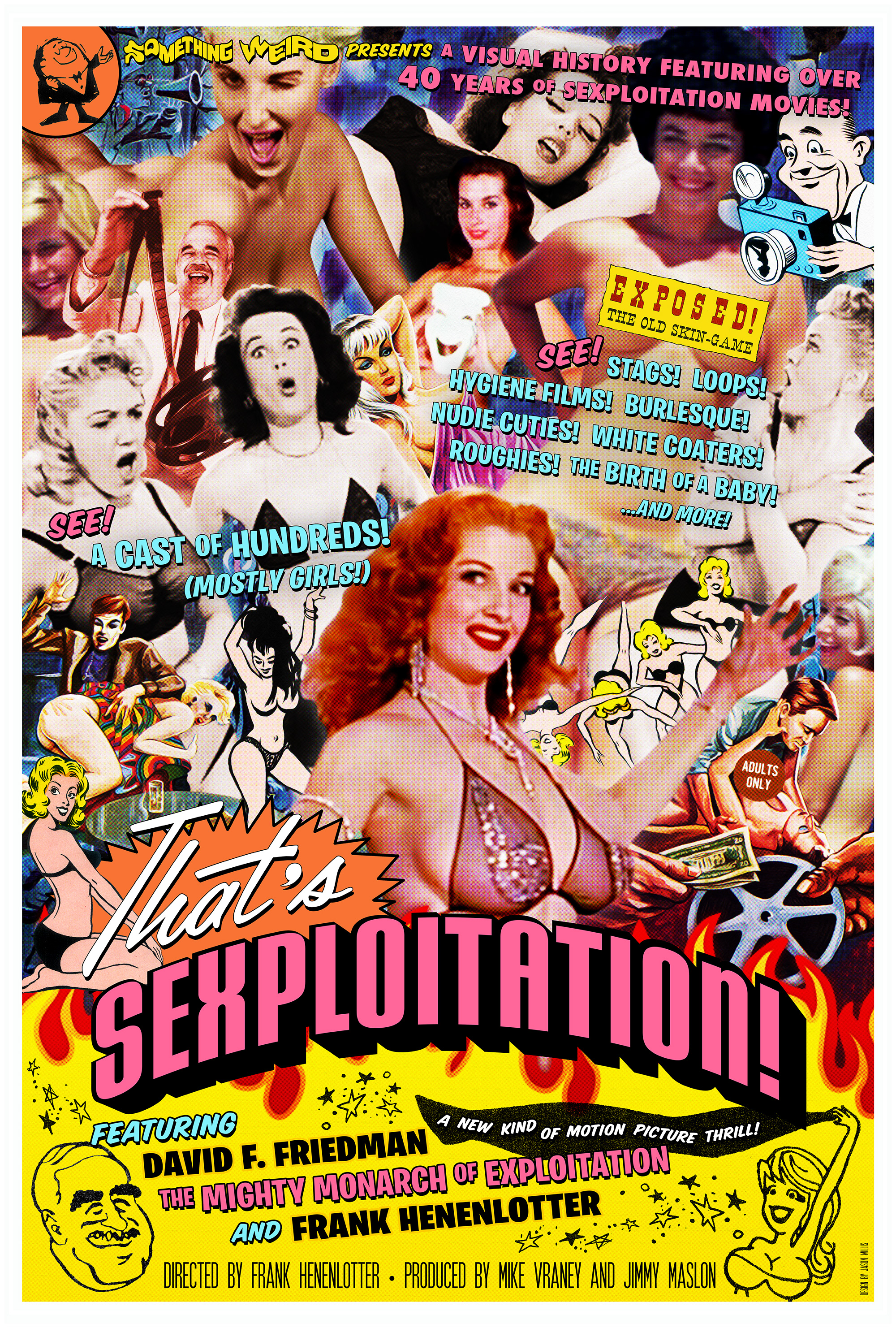 That's Sexploitation - One Sheet Poster Design