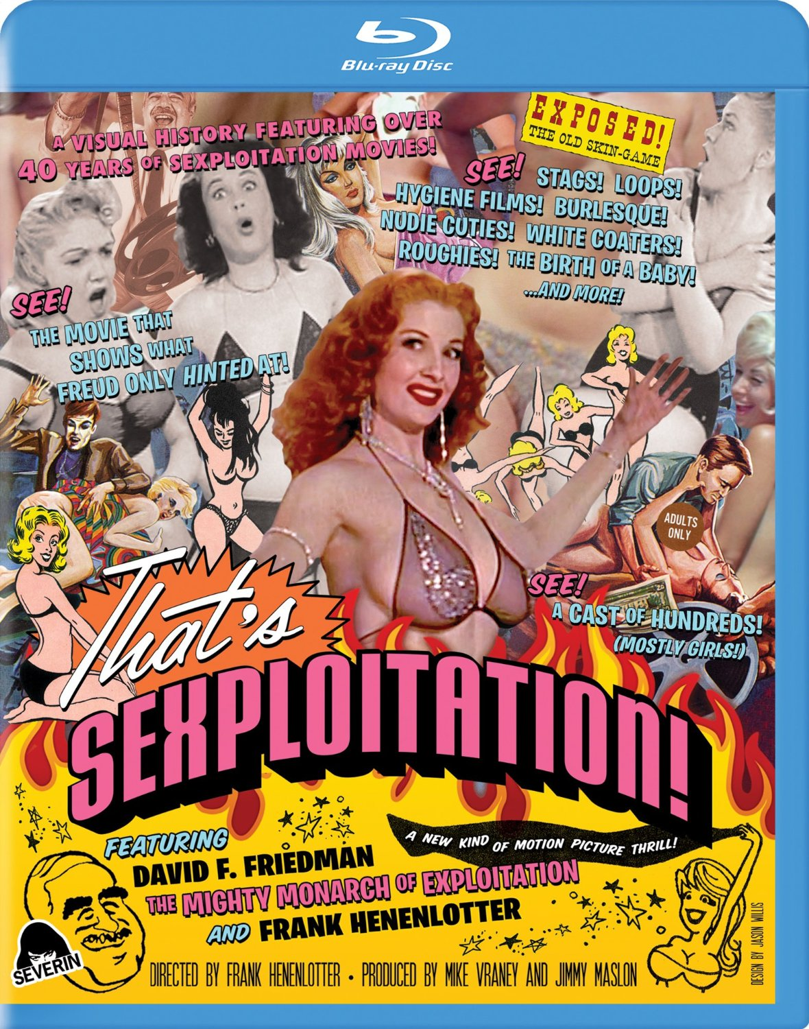 That's Sexploitation - Severin Blu Ray Cover