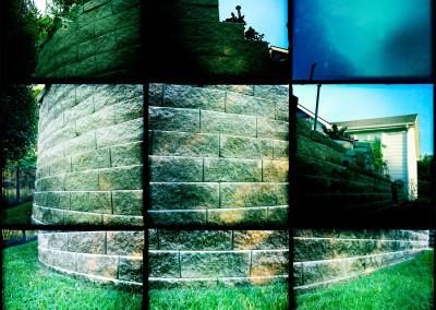 Suburban Wall
