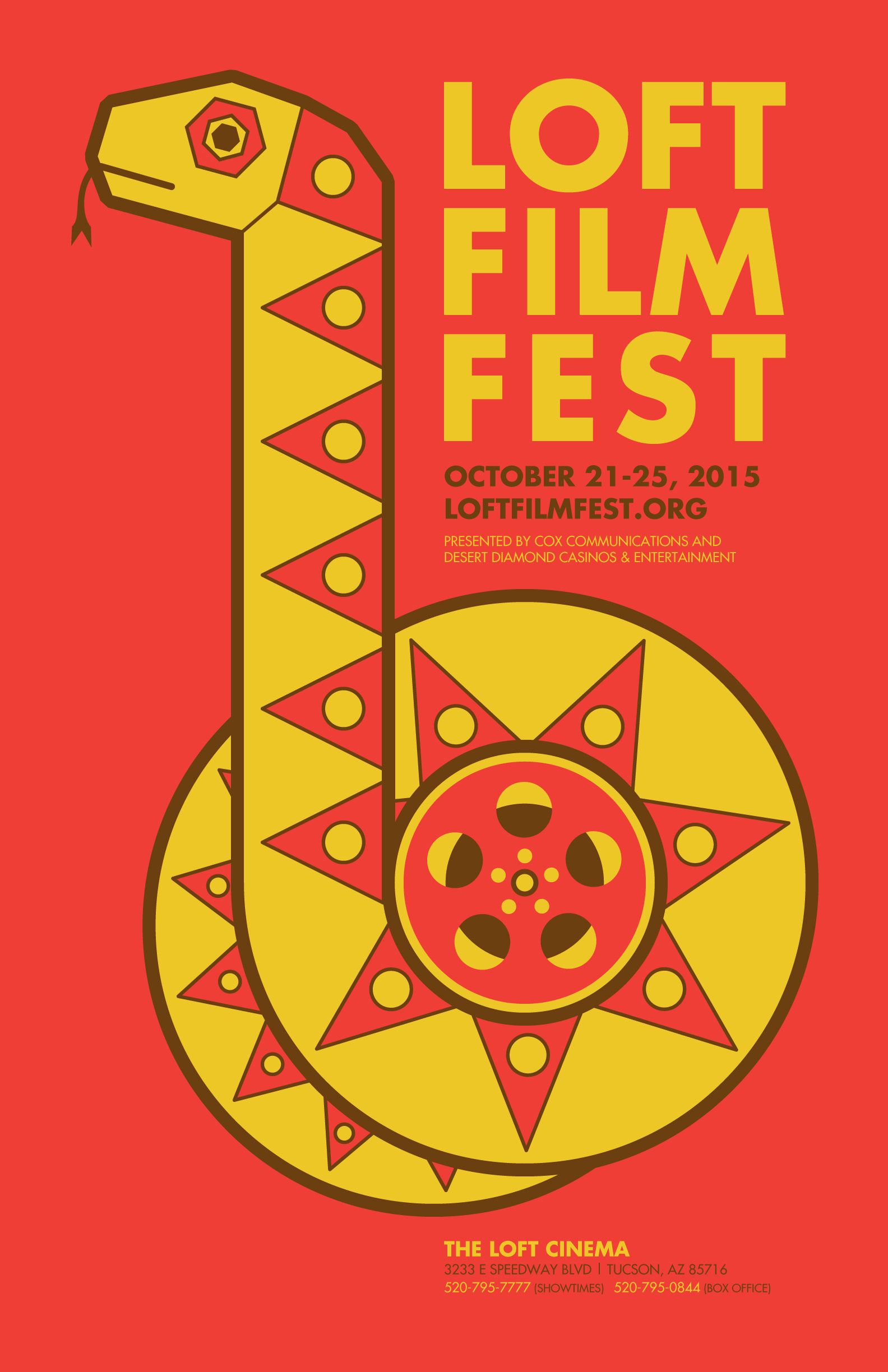 Loft Film Fest 2015 - Original Poster Design