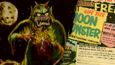 Moon Monster – Animated 1970 Comic Book Ad