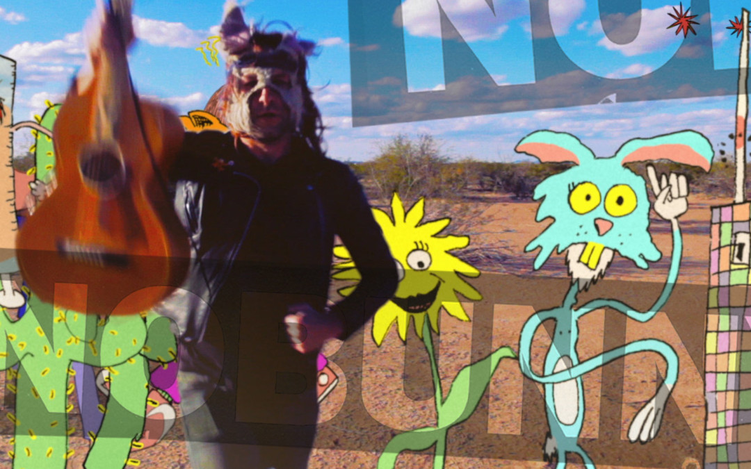 "Nobunny – ""I Was On (The Bozo Show)"" – Animated/ Live Action Music Video"