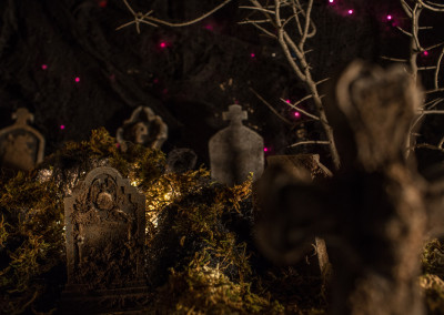 Scene 51 - Graveyard dolly pan