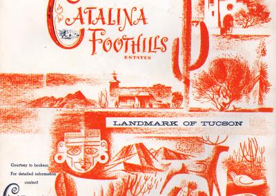 1961 Tucson Rodeo Program Back Cover