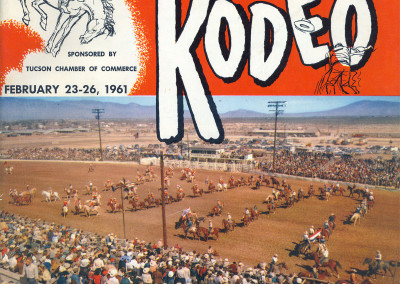 1961 Tucson Rodeo Program Front Cover