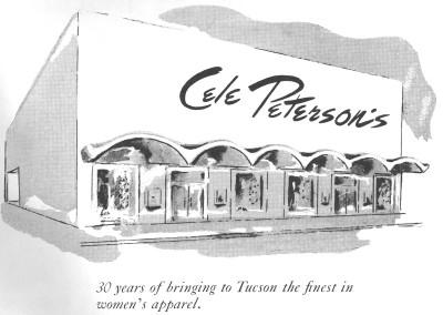 1961 Tucson Rodeo Program Inside Back Cover