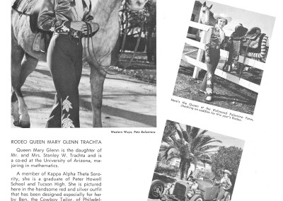 1961 Tucson Rodeo Program Page 03