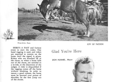 1961 Tucson Rodeo Program Page 07