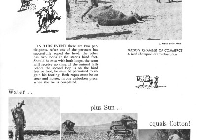 1961 Tucson Rodeo Program Page 13