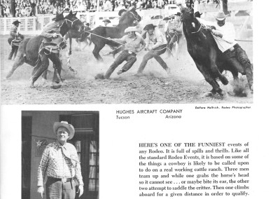 1961 Tucson Rodeo Program Page 15