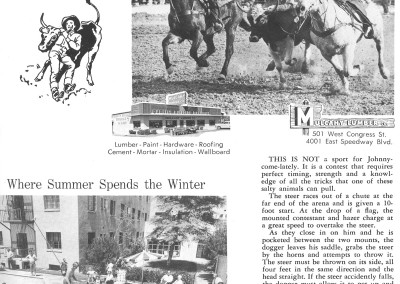 1961 Tucson Rodeo Program Page 17