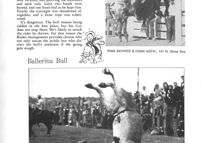 1961 Tucson Rodeo Program Page 19