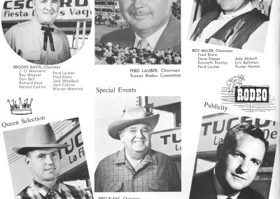 1961 Tucson Rodeo Program Page 22
