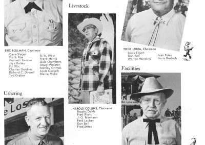 1961 Tucson Rodeo Program Page 23