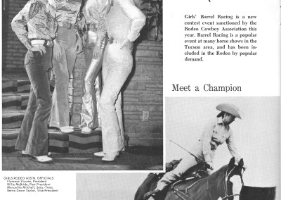 1961 Tucson Rodeo Program Page 30