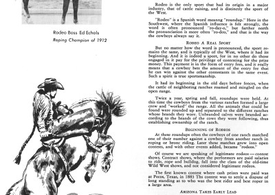 1961 Tucson Rodeo Program Page 46