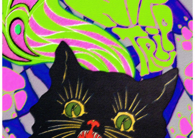 """Catnip: Egress to Oblivion?"" - ""Nip Trip"" Black LIght Poster"