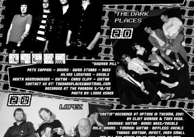 Dirtnap Across the Northwest - CD Booklet Interior 07 (2003)