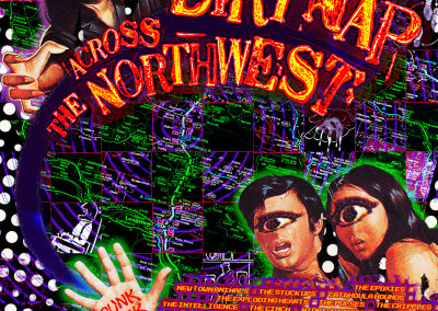 Dirtnap Across the Northwest - CD Cover Front (2003)