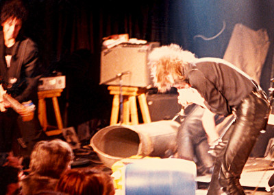 Einstürzende Neubauten at Parody Hall in KC, MO June 2, 1986 - 24 - © Jason Willis