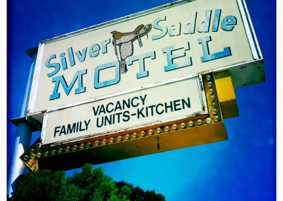 Family units are featured at the Silver Saddle Motel.