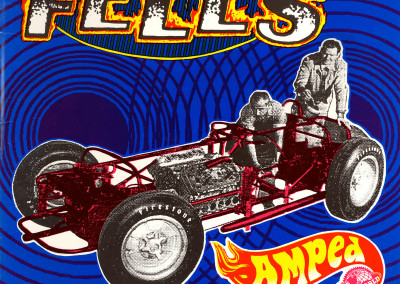 Fells - Amped 10 inch Front Cover (Westworld, 1994) by Jason Willis