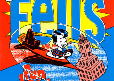 Fells - Fun Date - Single Front Cover (Third World Underground, 1993) by Jason Willis
