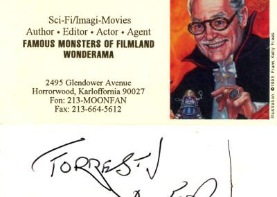 Forrest J Ackerman, 1994