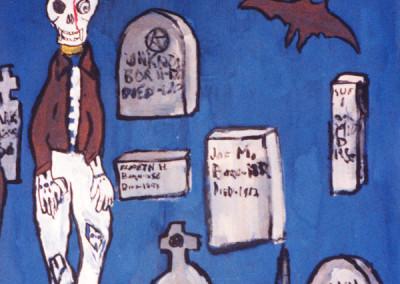 Halloween Paint-In, 1980 by Jason Willis