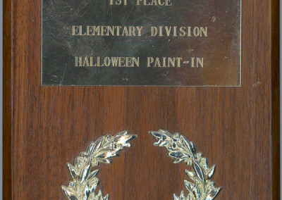 Halloween Paint-In 1st Place Award, 1980 by Jason Willis