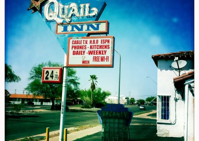 It will cost you $24.95 per night at the Quail Inn.