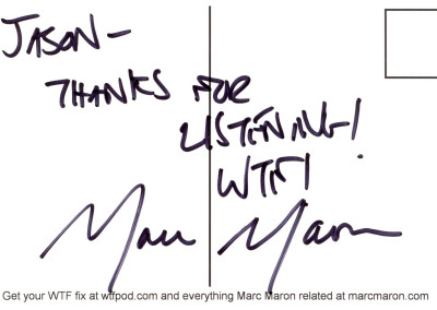 Marc Maron, 2010