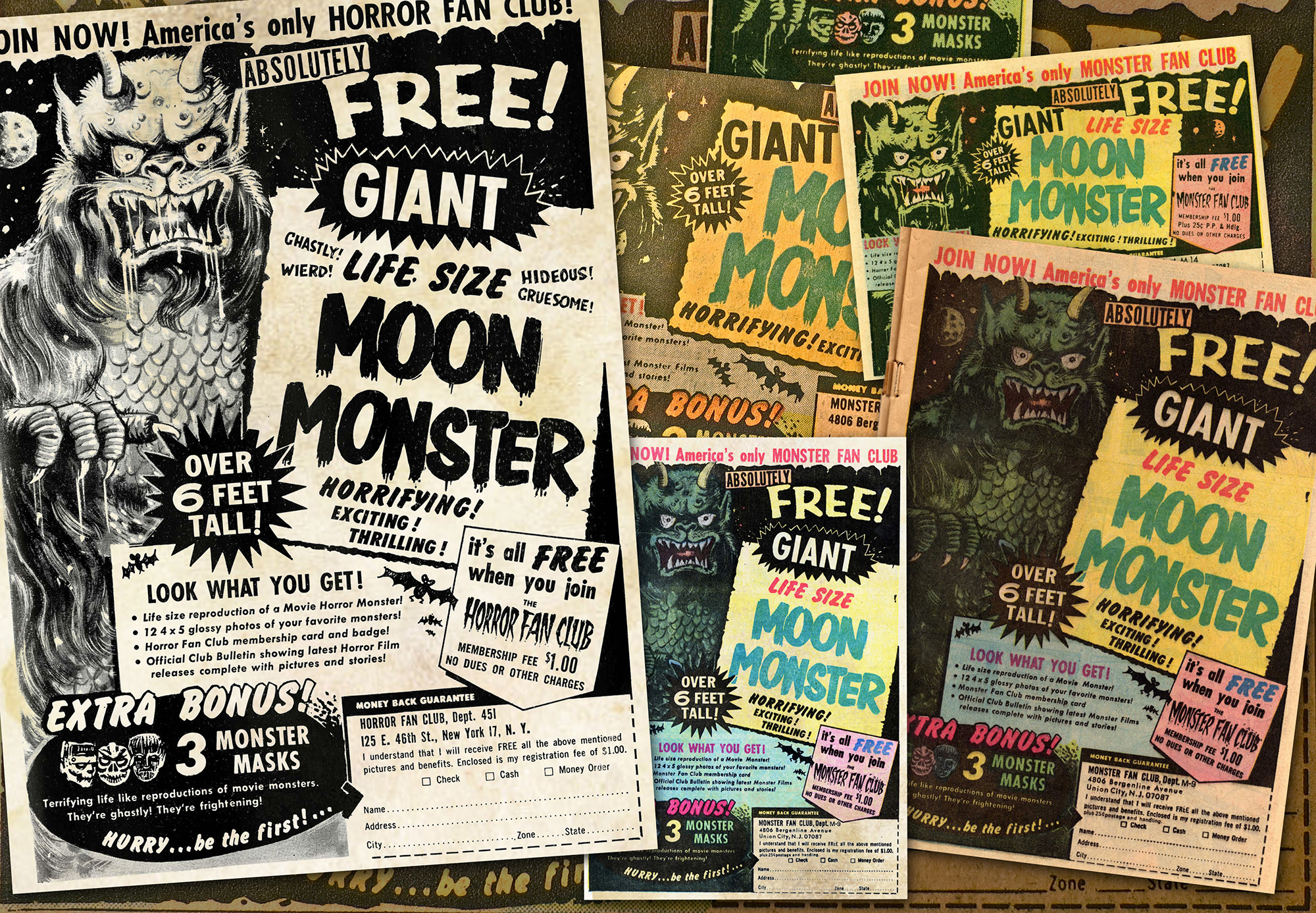 Moon Monster Ad Gallery