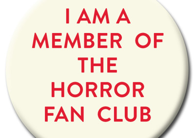 Moon Monster Horror Fan Club Badge